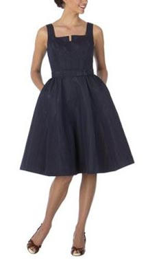 Issac Mizrahi Taffeta Couture Dress
