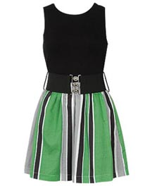 Jessica Stripe Skirt Dress