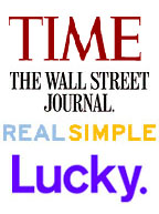 Omiru has been featured in Time Magazine, the Wall Street Journal, Real Simple, and Lucky Magazine.