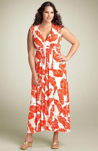 Rachel Pally White Label Print Caftan Dress