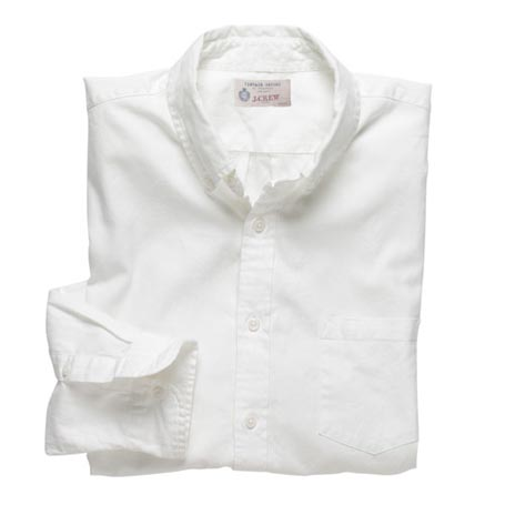 White Oxford Buttondown Shirt