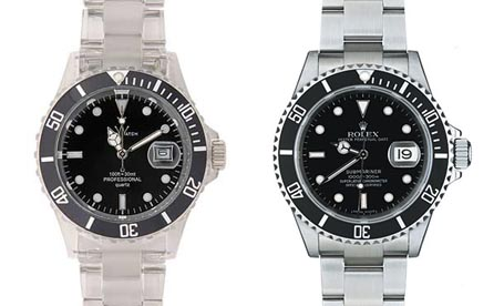 Toy Watch Crystal Watch Rolex Oyster