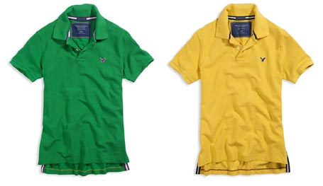 Eagle Pique Polo Shirts