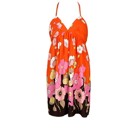Flower Art Dress