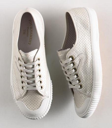 Tretorn Perforated Leather Sneaker