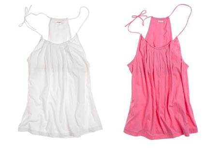 Pleated Tissue Camisole