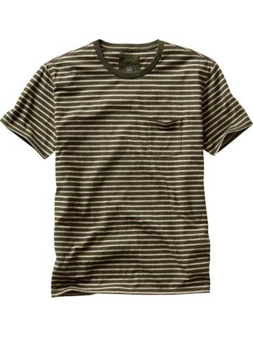 Striped Pocket T