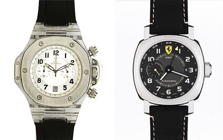 Strong Watch and Panerai Watch for Ferrari