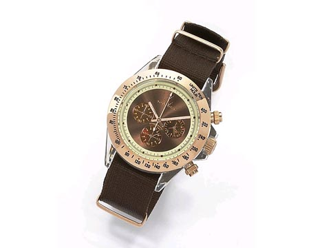 Toywatch Brown Sports Watch