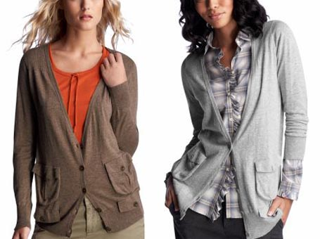 Double Pocket Cardigan