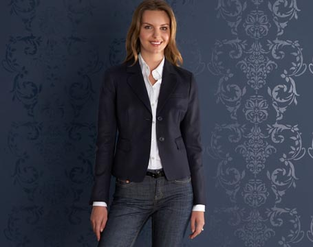 Two Button Cotton Blazer