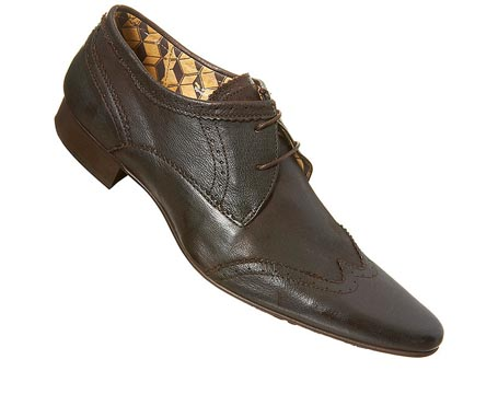 Brown Hudson Leather Brogues