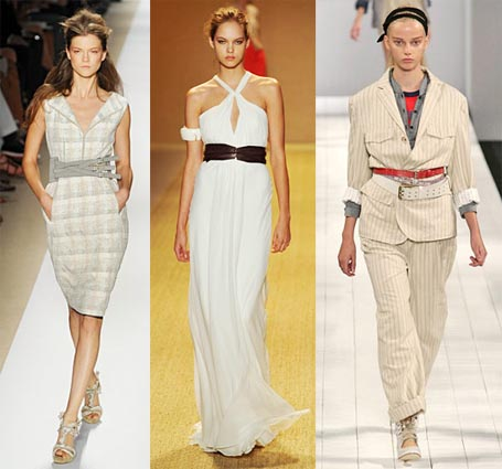 Spring 2009 Fashion Week Trend: Distinctive Belts