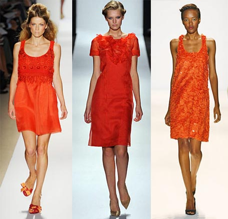 Spring 2009 Fashion Week Trend: Blood Orange