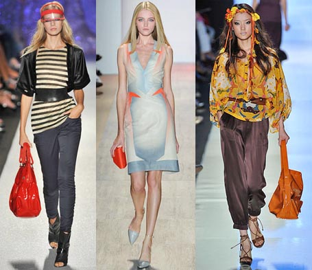 Spring 2009 Fashion Week Trend: Brightly Colored Handbags