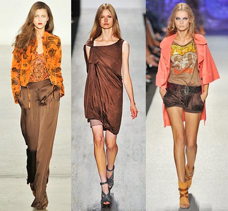 Spring 2009 Fashion Week Trend: Chocolate Brown