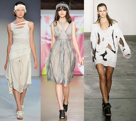 Spring 2009 Fashion Week Trend: Cutouts