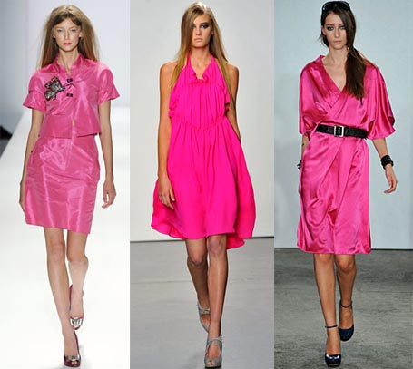 Spring 2009 Fashion Week Trend: Electric Pink