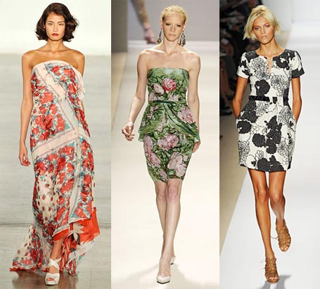 Spring 2009 Fashion Week Trend: Floral Prints