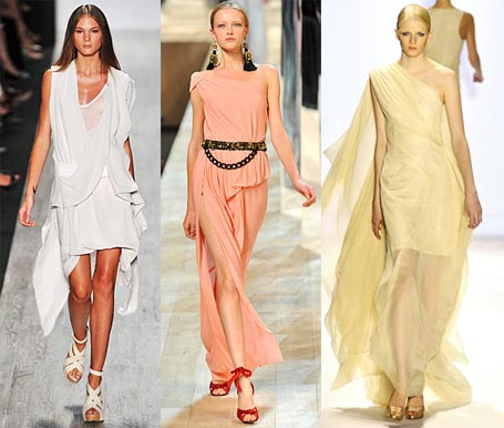 Spring 2009 Fashion Week Trend: Goddess Gowns