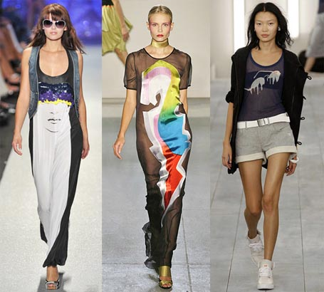 Spring 2009 Fashion Week Trend: Graphic Prints