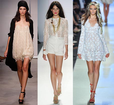 Spring 2009 Fashion Week Trend: Lace