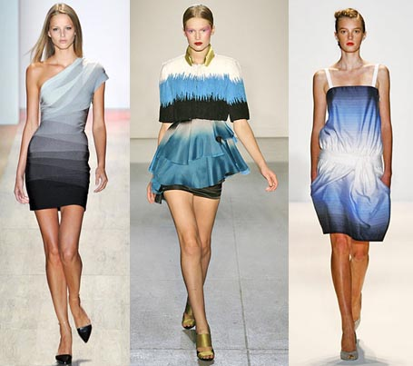Spring 2009 Fashion Week Trend: Ombre