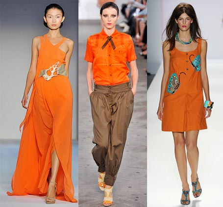 Spring 2009 Fashion Week Trend: Bright Orange