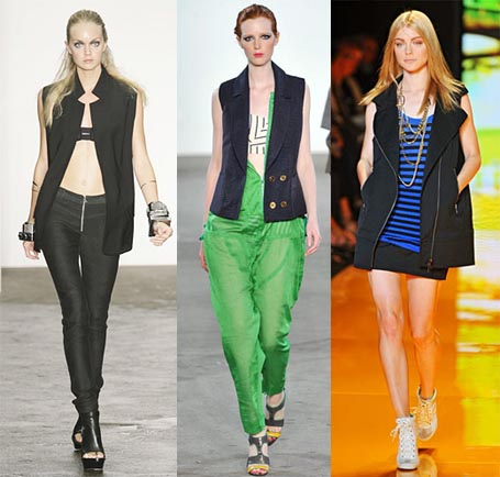 Spring 2009 Fashion Week Trend: The Oversized Vest