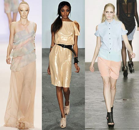 Spring 2009 Fashion Week Trend: Peach
