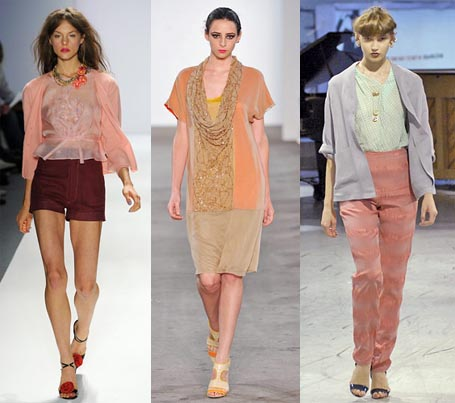 Spring 2009 Fashion Week Trend: Salmon Pink