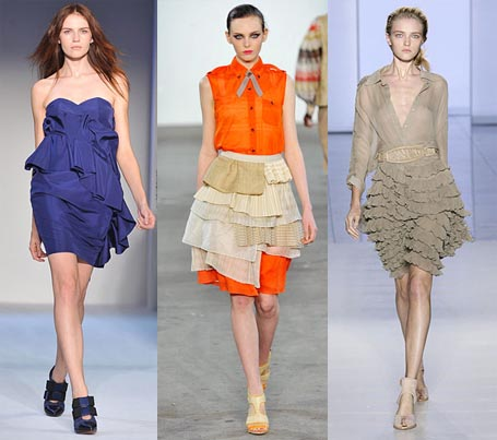 Spring 2009 Fashion Week Trend: Ruffles