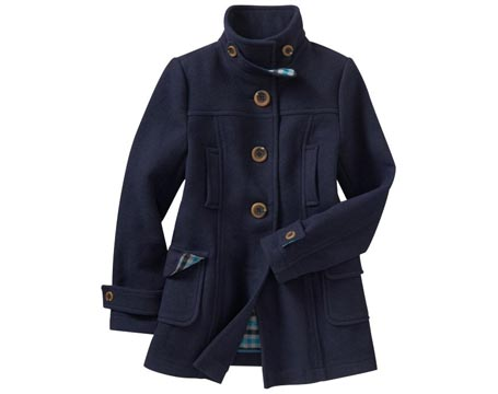 Womens Wool Duffle Coat
