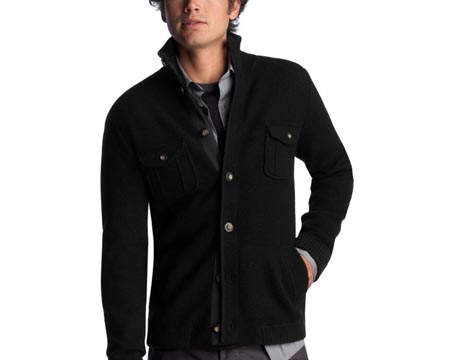Mens Full Button Cardigan