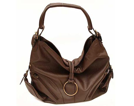 Large Brown Hobo Purse
