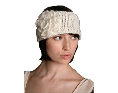 Sweater Floral Earwarmer