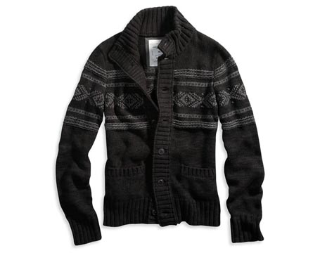 AE Holiday Cardigan