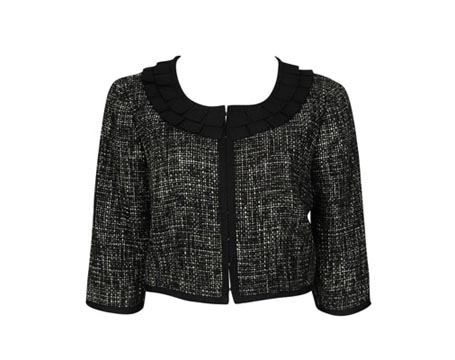 Cordelia Tweed Cropped Jacket