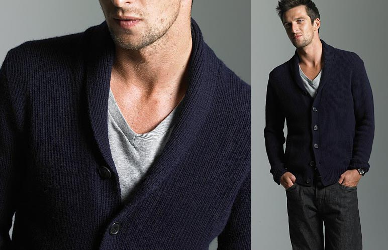 Spencer Jersey Shawl Cardigan