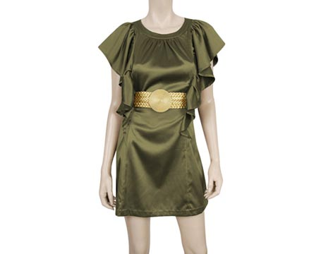 Warrior Belted Dress