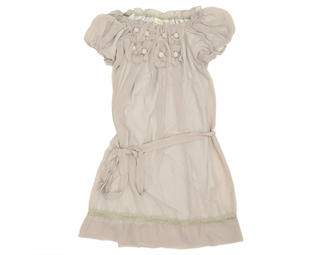 Bellitude Floral Chiffon Dress