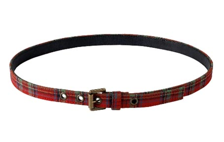 A.P.C. Plaid Belt