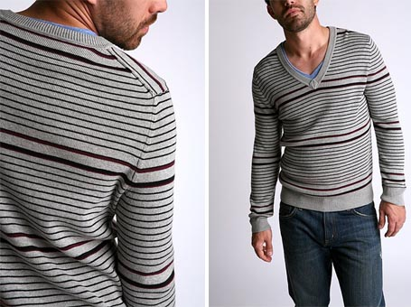 Standard Multi Stripe Sweater