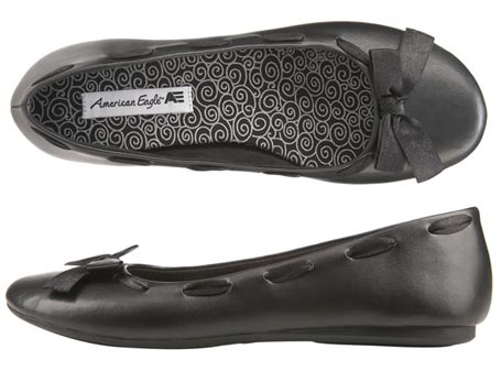 American Eagle Millie Bow Ballet Flat | $19.99 at Payless
