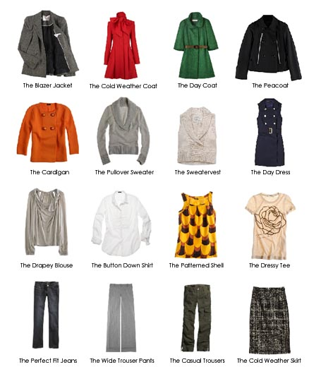 Omiru Fall Winter Capsule Wardrobe