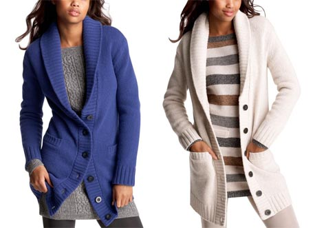 Shawl Collar Cardigan - Omiru: Style for All