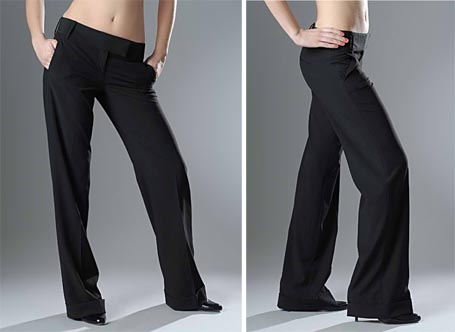 Womens Black commercial enterprise Pants | SUPERFI
