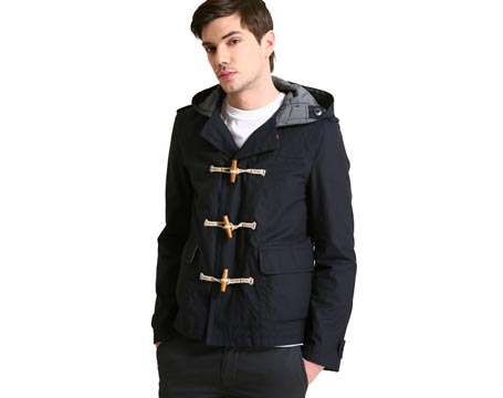Cropped Duffle Coat