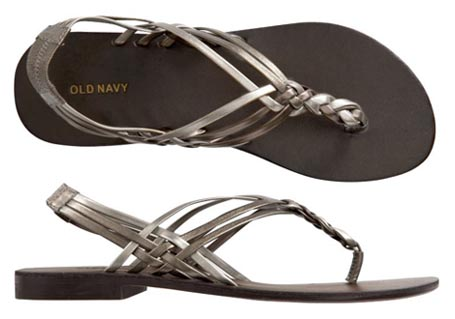 metallic braided sandals 041909 - Sandles