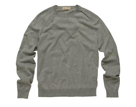 Cotton Cashmere Crewneck Sweater - Omiru: Style for All
